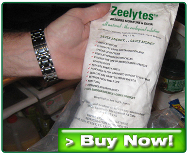 Zeelytes Reduce Moisture and Absorbs Odors